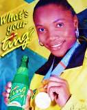 Ting--This super-refreshing Jamaican soft drink is filled with real Jamaican grapefruit, which gives it it's distinct flavor.